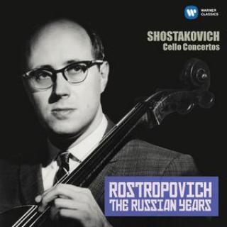 THE RUSSIAN YEARS: SHOSTAKOVICH CELLO CONCERTOS [CD album]